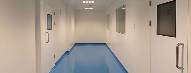 Clean room Corridor